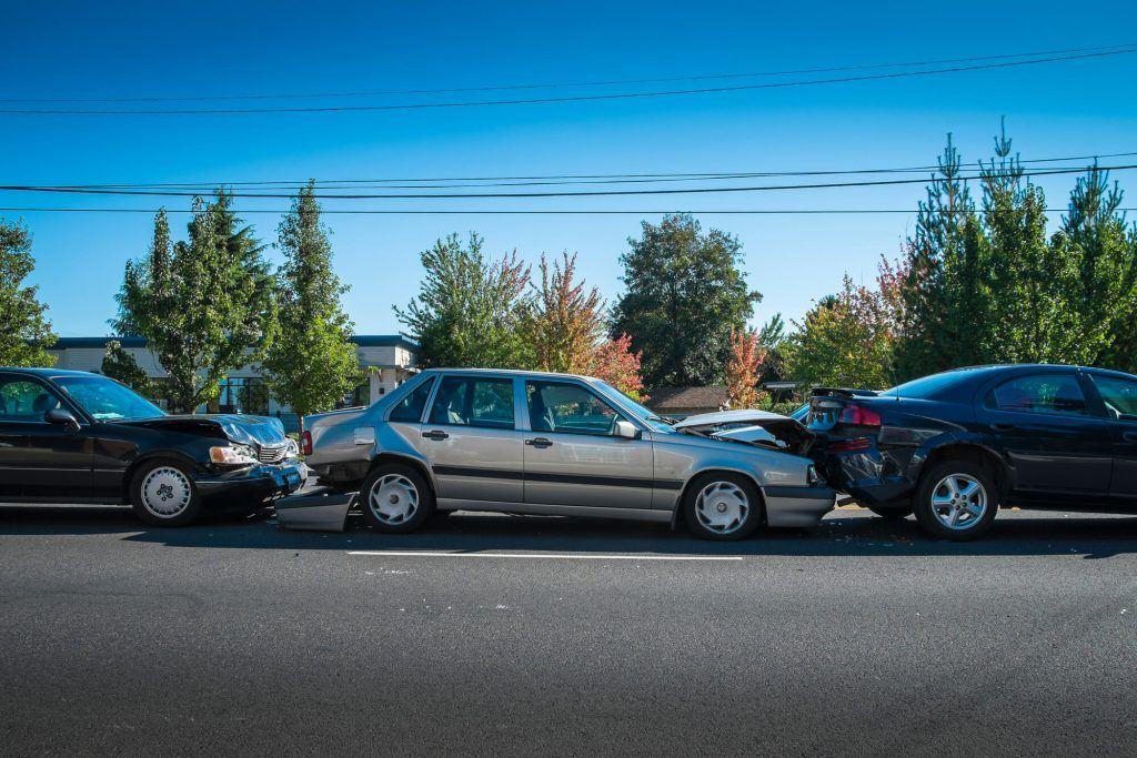 Three Vehicle Collision in Oakley Injures Three