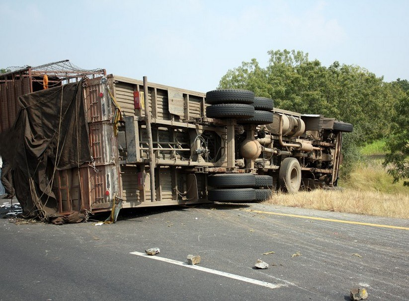 Four Hospitalized After Red Bluff Area Trucking Crash