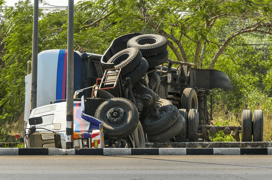 Fairfield Truck Accident Causes Chemical Spill