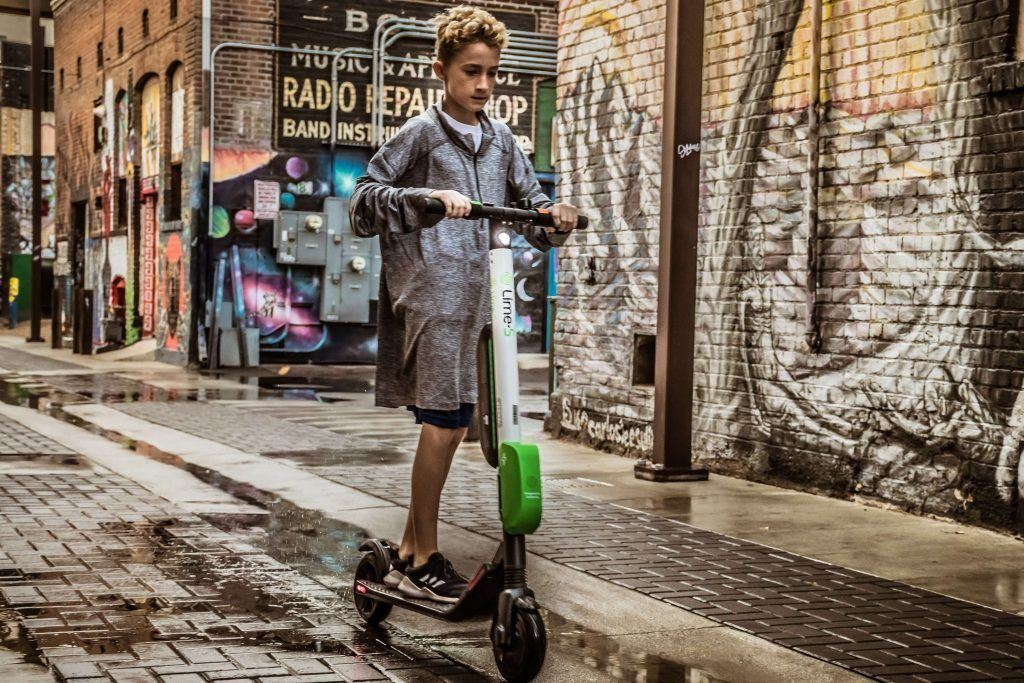 Age Requirement to Ride Electric scooters
