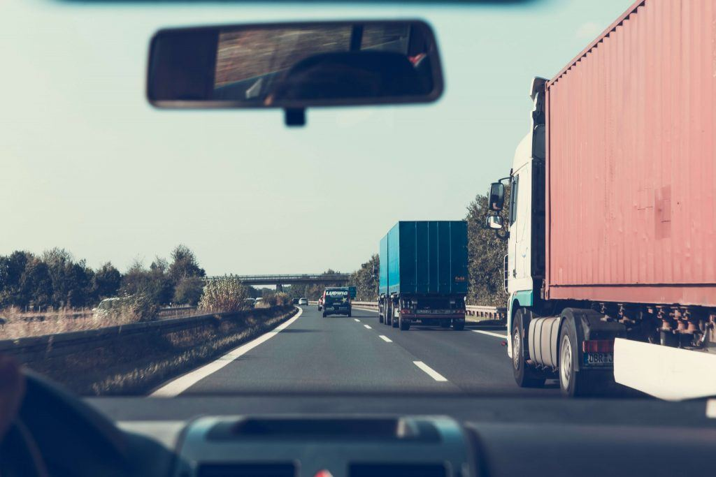 Blind Spot Truck Accidents