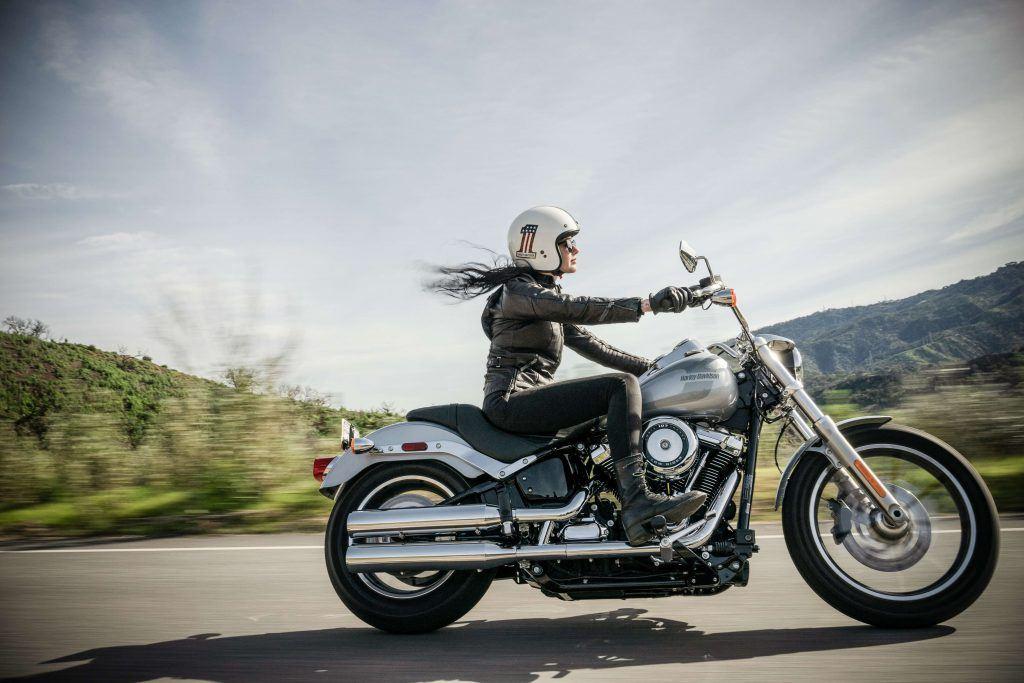 More Women Taking up Motorcycle Riding