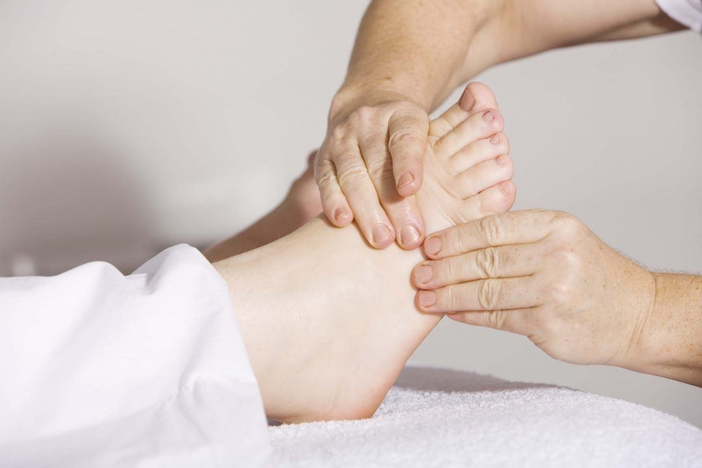 Foot Neuropathy in a Motorcycle Accident