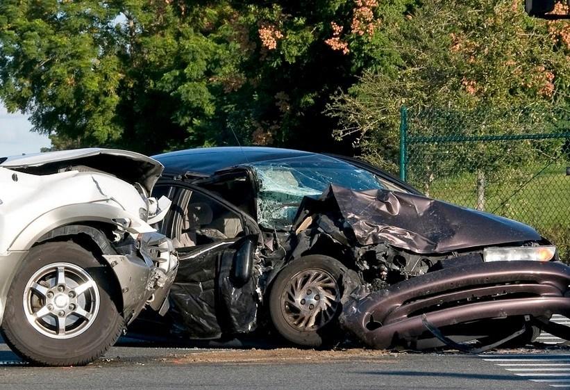 Broadside Crash Hospitalizes Napa Man