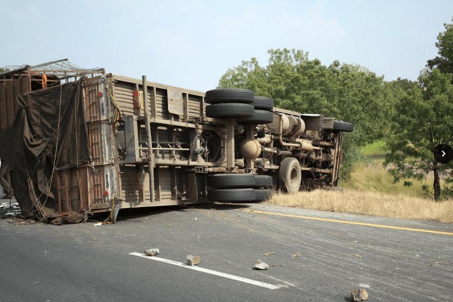Trucker Suffers Serious Trauma During Suisun Rollover