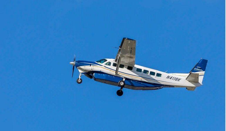 Delivery Plane Crash in Arcata Bay