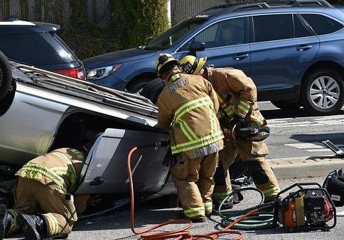 Motor Vehicle Crash in Sacramento Between a Car and Big Rig