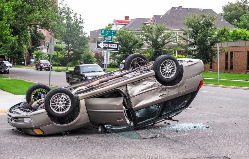 One Hospitalized After Fairfield Rollover Accident
