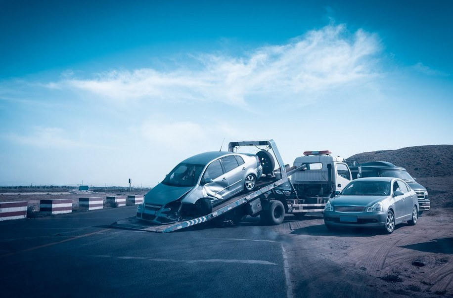 Traumatic Three-Vehicle Crash in Eureka