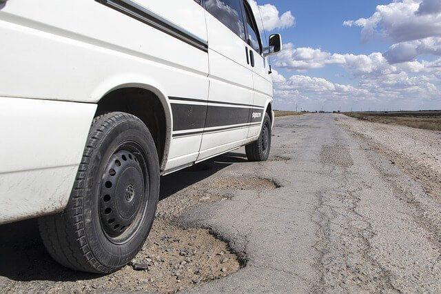 Hazards Created by Potholes