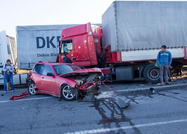 Serious Red Bluff Trucking Crash