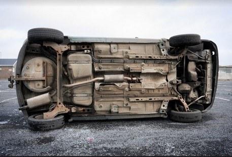 Solano Driver Survives Serious Rollover
