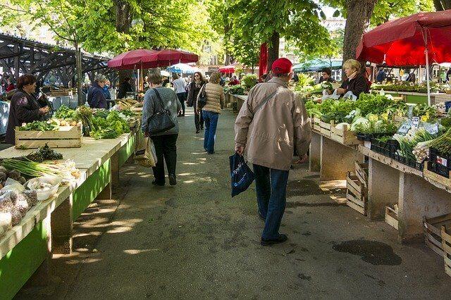 Folsom farmers' market