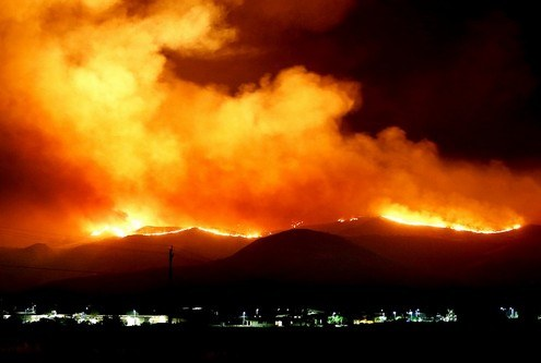 Thousands Evacuated as Wildfire Spreads to Solano County