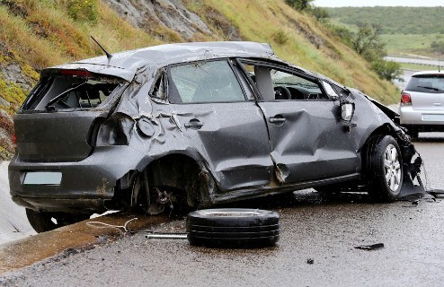 Major Injuries Suffered During Benicia Rollover Accident