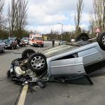 Sacramento Rollover Accident Causes Injuries on On-Ramp
