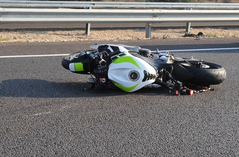 A motorcyclist suffered major trauma during a local collision