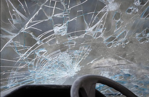 Fiery Redding Car Crash Hospitalizes One