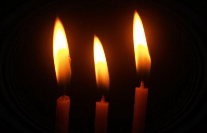 Candles for Oroville street racing tragedy