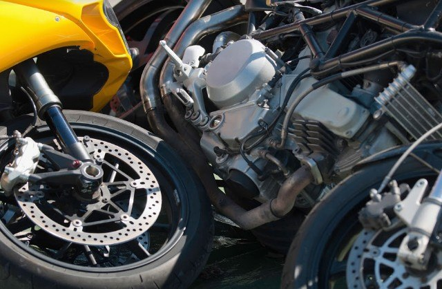 One person was severely hurt during a motorcycle accident in Corning