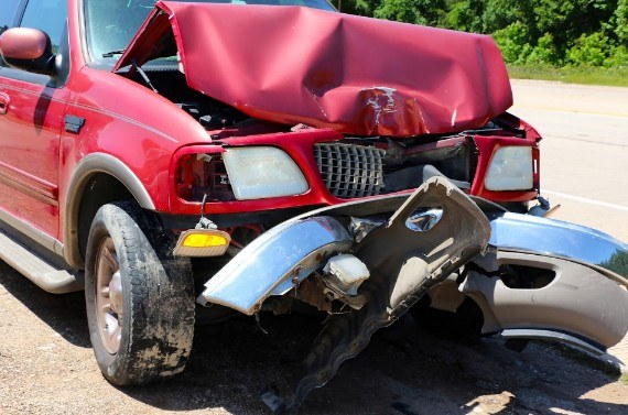 Two Fortuna Residents Suffer Major Injuries in Head-On Crash