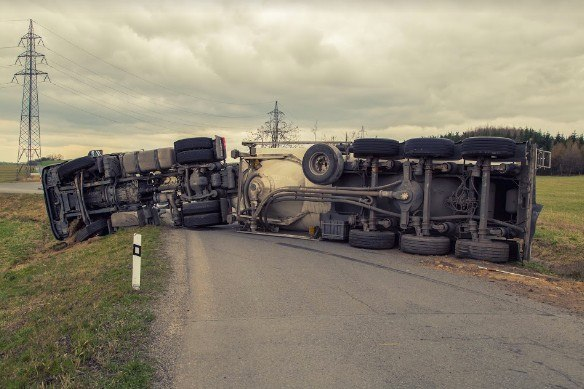 Big-Rigs Collide with Farm Tractor in Major Chico Truck Accident
