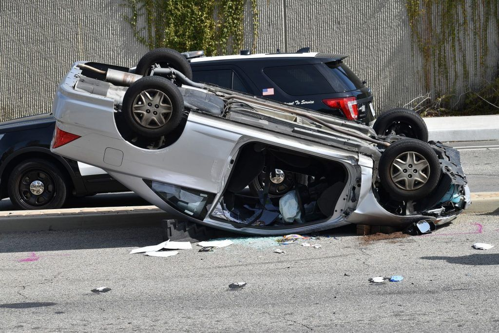 Solo Vehicle Injury Accident Occurs on Sacramento Freeway
