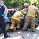 Trapped Driver Rescued Following Rancho Cordova Accident