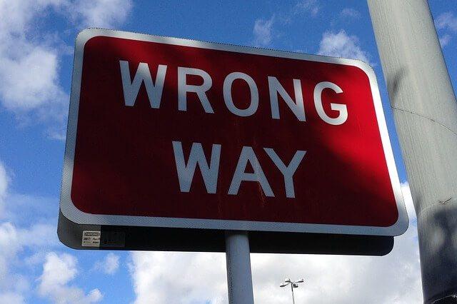 wrong-way Maserati